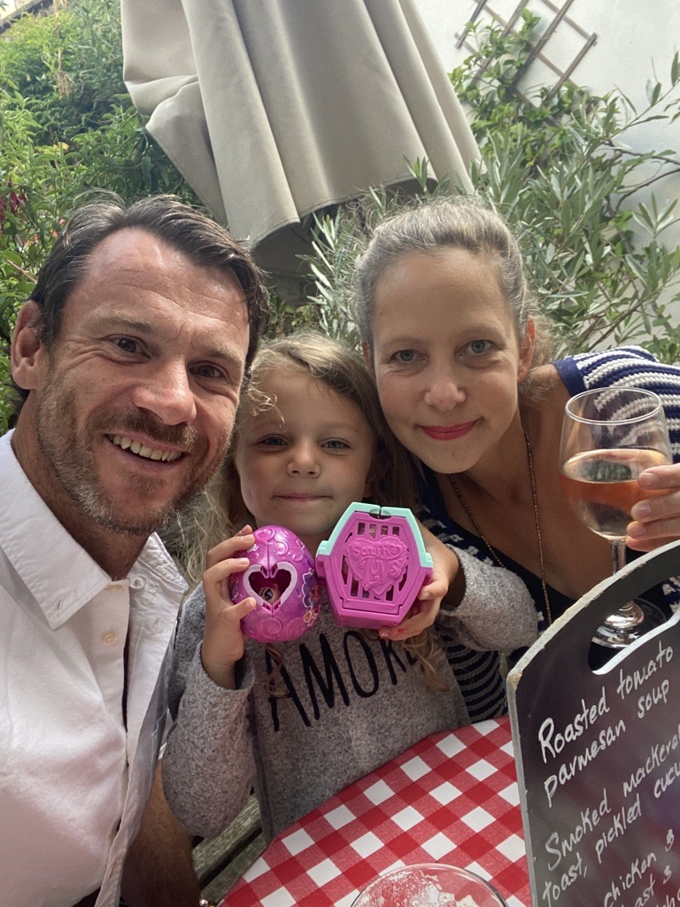 Anthony Vill, First Wealth Managing Director, with his family